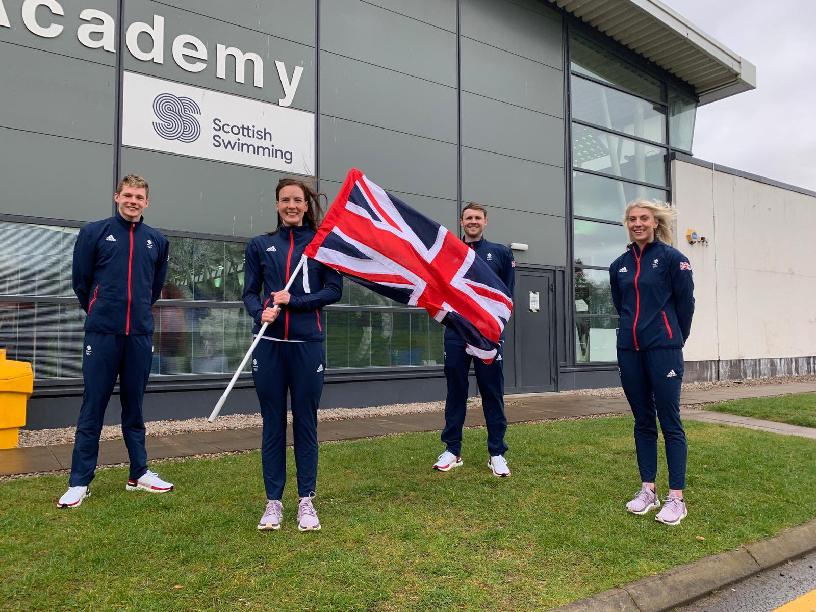 OSS Ambassador Among Four Scots selected for the GB Olympic Team