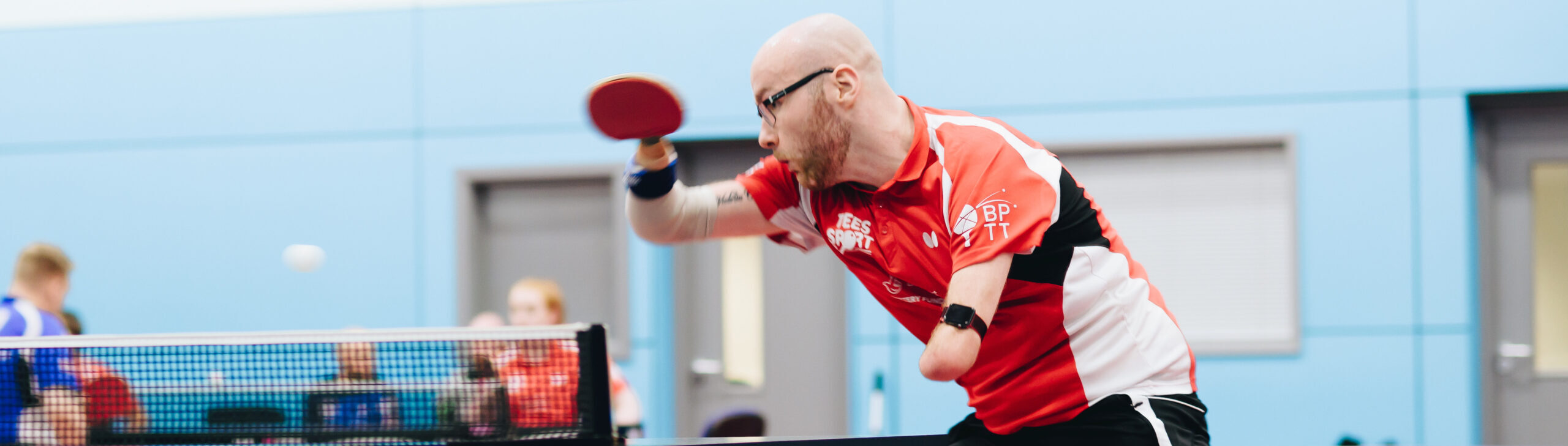 Table tennis star Martin Perry brings unique experience to the Ambassadors